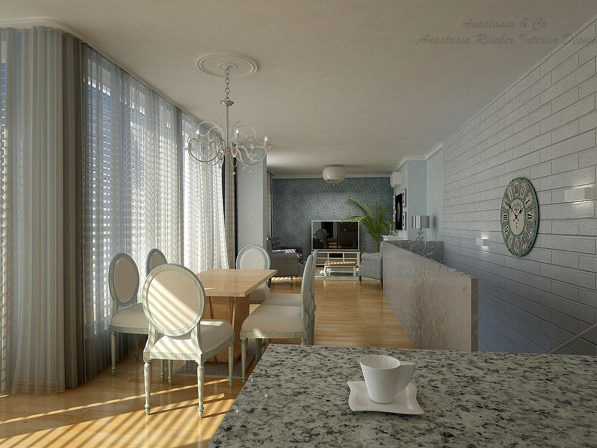 Interior design penthouse vienna for Interior design wien